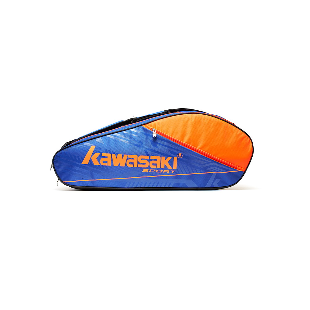 Сумка KAWASAKI TCC-055 BLUE-ORANGE для бадминтона.